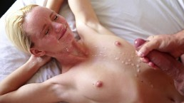8 min Big titted blonde milf doggystyle nailed blonde